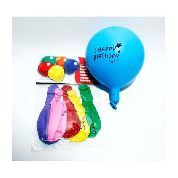 Baloane Happy Birthday 6/Set