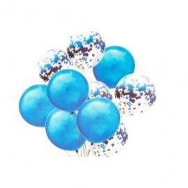 Baloane Cu Confeti Sclipici 10/Set