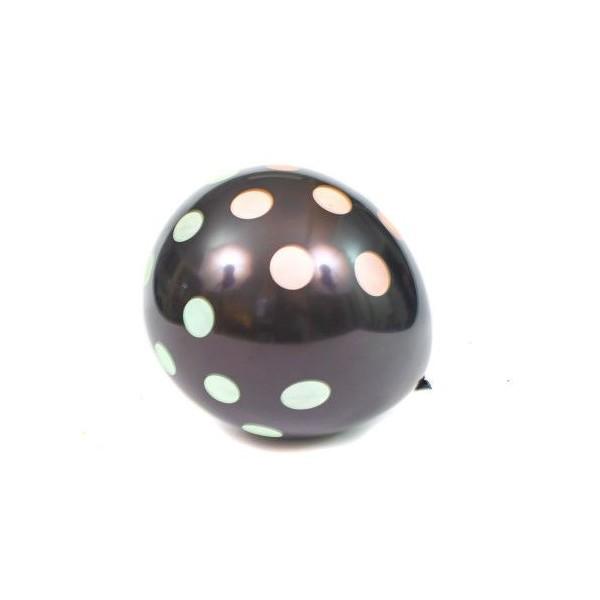 Baloane Negre Cu Buline 6/Set