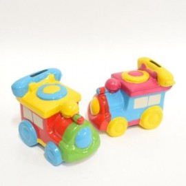 Pusculita Ceramica Tren