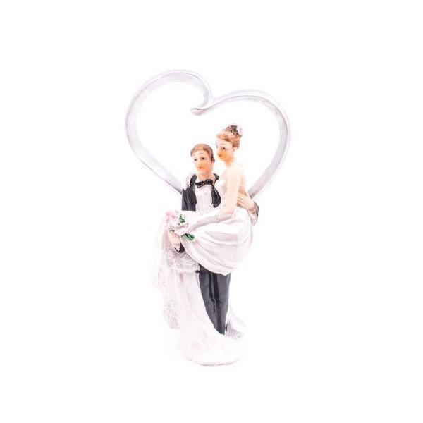 Figurina Tort Nunta Miri Rasina Cu Inima